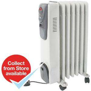 1.5kW Oil Filled Radiator £24.99 @ Home Bargains