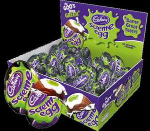 Cadbury Screme Eggs, 5 for £1 in store at Home Bargains