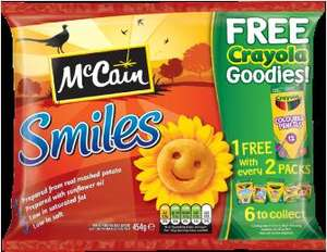 FREE Crayola Goodies with McCain