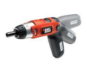 Black & Decker KC36LN 3.6V Lithium pivot handle screwdriver £12.78 @ Tesco Direct