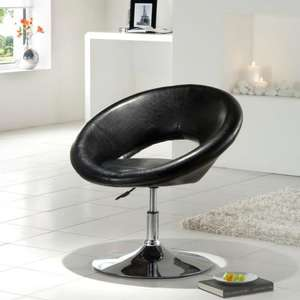 Moon Chair - Black reduced to £39.00 @ ASDA Direct