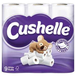 Cushelle 9 pack Toilet Rolls - £2 (Possibly £1.50) @ ASDA Instore