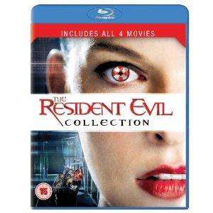 Resident Evil 1-4 [Blu-ray] for  £10.99 @ amazon.co.uk