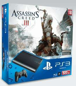 PlayStation 3 500gb Super Slim + Assassin's Creed 3 + FIFA 13 + either NFS: Most Wanted or MOH: Warfighter @ GAME at GAME