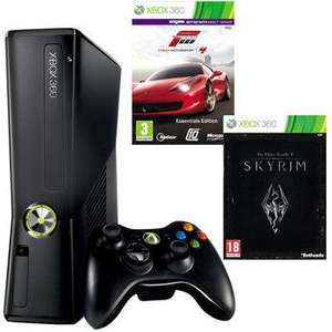 Xbox360 250gb comes with forza 4 and skyrim 159.99 toysrus instore only