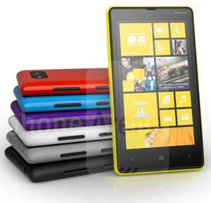 "Nokia Lumia 820, Windows Phone 8, 4.3"" Screen, 1080p Video, 8MP Camera, Super Sensitive Touchscreen, 8GB memory with up to 64GB SD Card, Dual Core S4 Snapdragon CPU @ Carphone Warehouse Sim-Free £379.95 with FREE Wireless Charging Plate"