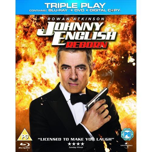 Johnny English Reborn - Triple Play (Blu-ray + DVD + Digital Copy) - £5.00 @ Amazon