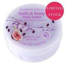 bath & Body Mulberry & Green Fig Luxury Body Butter £2.50
