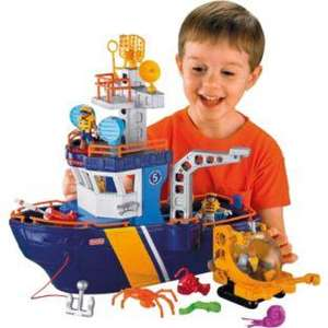 Fisher-Price Imaginext Ocean Boat was £49.99 now £24.99 @ Argos