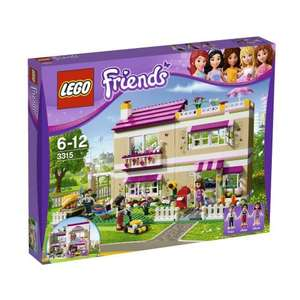 LEGO Friends Olivia's House 3315 was £64.99 now £49.99 del @ Smyths Toys (using code)