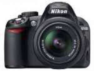 Nikon D3100 Digital SLR Camera with 18-55mm VR Lens Kit (14.2MP) £264.99 with £35 cash back@ Amazon
