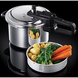Russell Hobbs Aluminium Pressure Cooker - 4L £15 @ Asda Direct