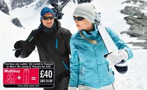 Lidl Ski Gear Time from - £2.99