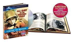 All Quiet on the Western Front [Limited Edition Digibook] [1930] [Blu-ray] ,£8 delivered @amazon