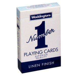 "Waddingtons ""Number 1"" Playing Cards for £1.39 @ Amazon"