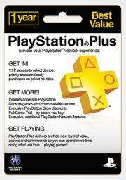 PlayStation Plus Card 1 Year Subscription  £29.99 @ Grainger Games