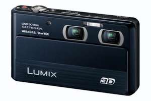 Panasonic Lumix DMC-3D 3D Compact Digital Camera (5x Optical Zoom) 3.5 inch LCD  half price on offer £228.99 delivered at Panasonic shop