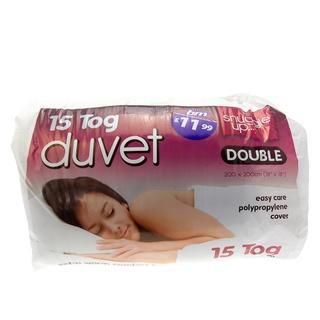 15 Tog Hollowfibre Double Size Duvet 11.99    B & M Instore