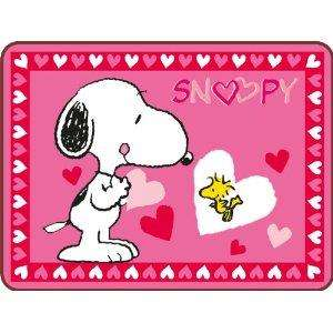 Snoopy Heart Rug 75 x 100 cm now £3.33 del @ Amazon