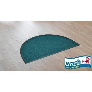Washable + Tumble Dry  Doormat Semi-Circle 50 x 75 cm Dark Green £3.33 del @ Amazon