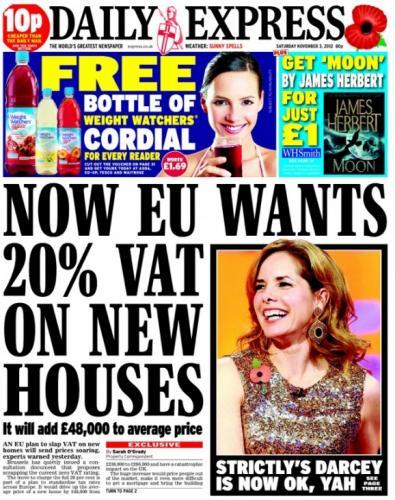 Saturday newspaper offers - see post - Sun/ Express/ Star/ Mirror/ Mail