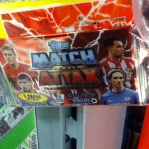 match attax 1 pack and mini binder@ASDA