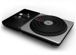 DJ HERO Wii GAME AND TURNTABLE £9 DELIVERED! @ HMV