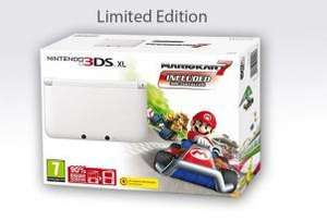 Nintendo 3DS XL, White, with Mario Kart 7 Download, @Shopto for £194.85