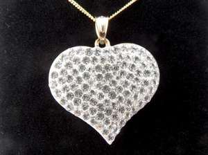 Gold Heart Pendant £67.02 delivered @ Amazon