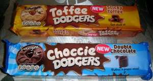 Jammie Dodgers Double Choc or Sticky Toffee 4 for £1 @ Home Bargains - 29p Each