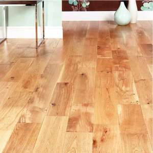 Solid Oak Flooring from Wickes (instore) for £9.99