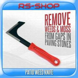 Garden Patio Weed Knife Removes Weeds/Moss from Patio & Paving Slabs Stones £1.49 delivered RS Communications Ebay