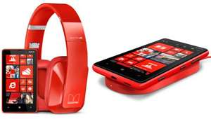Nokia Lumia 820 Windows 8 Phone - Sim-Free with Charging Plate & Nokia Purity Headphones by Monster £379.95 @ Selfridges