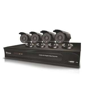Swann 500gb CCTV Recording Kit With 4 Cameras SWDVK-412004C- £215.99 @ makro