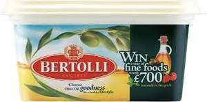 Bertolli Olive Oil Spread (500g) was£1.90 now 95p @ Sainsburys