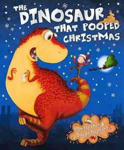 The Dinosaur that Pooped Christmas (Paperback) by Tom Fletcher & Dougie Poynter only £2.99 delivered  (using code 132XMAS)  @ Red House
