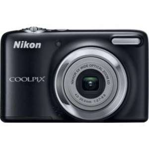 Nikon Coolpix L25 10MP Compact Digital Camera - Black Or Red  £39.99 @ Argos