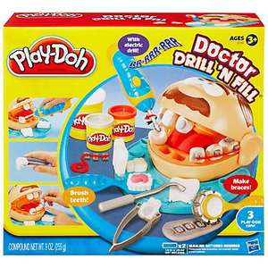 Play Doh Dr Drill N Fill £6.99 @ John Lewis free click & collect or £3 delivery