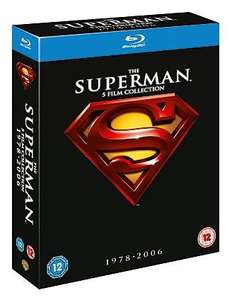 Superman Collection 1 - 5 - Blu-Ray Boxset £10 @ Asda Direct