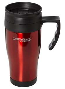 Thermos Thermocafe Stainless Steel Travel Mug - Red for £2.80 @ asda direct