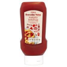 Tesco Everyday Value Tomato Ketchup 590G Bottle 16p @ tesco