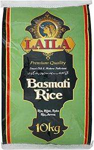 Laila Basmati Rice (10Kg) Only for £9.00 @ Morrisons