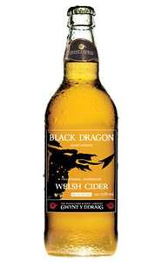 gwynty ddraig black dragon cider 12 x 500ml bottles £30 plus p&p @ Gwynt Cider