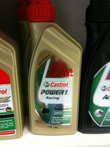 CASTROL POWER1 1litre of 4T motorcycle OIL 10W40 REDUCED (instore) £3.10 @ Tesco