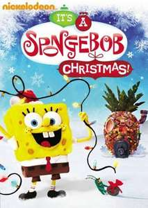 New Stopmotion Spongebob Squarepants Christmas Episode on DVD at ASDA