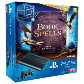 Playstation 3 super slim 12gb with book of spells, wonderbook and move starter pack @ gamestation - £119.99
