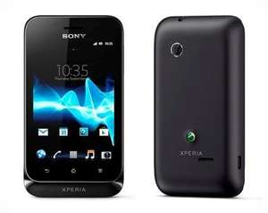 Sony Xperia Tipo Android Phone on Vodafone