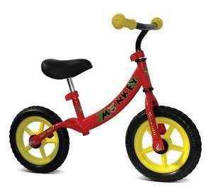 Viking Kid's Balance first bikes - (Red or Pink) - £29.99 Delivered @ Rutland Cycles