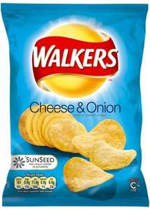 walkers cheese and onion 22pack crisps at mr burger, leicester £1.99