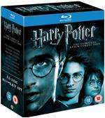 Harry Potter: The Complete 8 Film Collection (Blu-Ray) £24.99 @ DVD.CO.UK